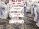 Stativ Decorativ (Trepied) Nuntă Personalizat