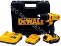 Trusa DeWalt Bormasina cu 2 acumulatori de 24V Profesionala