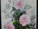 Trandafiri 3-pictura ulei pe panza