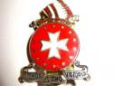 4250-Insigna USA-Ex Hoc Signo Victoria coif indian si Cruce.
