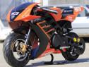 Motocicleta electrica nitro ecotribo 1060w 36v #orange