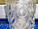 B452-I-Vaza cristal veche Franta marca Conte de la Boierre..