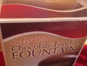 Fantana de ciocolata noua in cutie