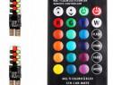 Led 10 6 Smd Multicolor Rgb Cu Telecomanda LED 045