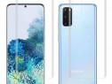 Folie Curbata Silicon Fata Spate Samsung S20 S20+ S20 ULTRA