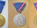 B517-I-Set 3 Medalii militare Austria-Alama aurita-argintata