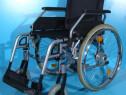 Carucior cu rotile dizabilitati cu rotile B+B / sezut 45 cm