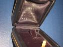 6341-Cutie vintage Bijuterii araba vinilin, stare buna, noua
