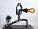 Lampa flamenco steampunkdesigncj, lampa steampunk