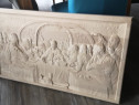 Tablou in relief, lemn masiv, modele religioase, la comanda