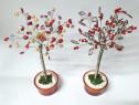 Pomisori decorativi, copaci handmade margele