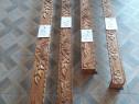 Cornize , draperii sculptate in lemn