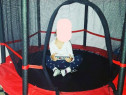 Trambulina elastica pt copii cu plasa de protectie - Noua
