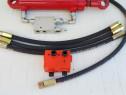 Cilindru plug reversibil, supapa reversare plug