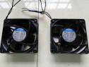 Ventilator axial 230 V/AC, 160 m³/h, 119 x 119 x 38 mm