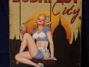 Poster cartonat Budapest City - vechi, vintage, de colectie
