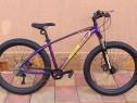 Bicicleta pegas mtb - drumuri grele mov - nou sigilat