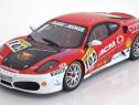 Macheta Ferrari F430 European Champion 2006 - HotWheels 1/18