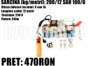 Troliu Scripete Macara Electric 200 KG Cablu Otel Carbon 12