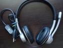 Casti Logitech Stereo USB Headset 250