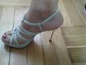 Sandale piele cu cristale swarovski Vero Uoio - 36