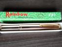 Stilou vintage 1970 Rainbow 237 cu penita aurita Descriere: