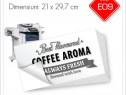 Etichete Autoadezive Personalizate 21 x 29,7 cm | Alb/Negru
