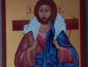Icoana Unicat, foita de aur pur cu Isus Hristos