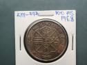 Moneda 100 pesetas 1968, ag
