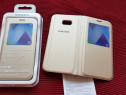 Husa Originala S-view activa Samsung Galaxy A5 2017 Noua