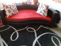 Canapea extensibila ovala/rotunda