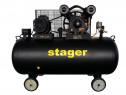 Compresor Aer Profesional Stager HMV0.6/370L 600L/min 10bari