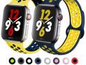 Curea Ceas / Apple Watch Seria 1 2 3 4 5 6 SE Din Silicon