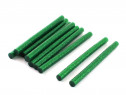 Set 10 rezerve silicon 11mm MRG, Lungime 20cm, Verde C