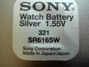 Baterie ceas Sony, cu argint 321-SR616SW.