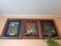 Trei picturi pe sticlā de HANNES NEUBAUER