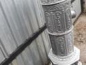 Soba veche material din fontă si decorativ.