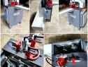 Utilaj automat de frezat montant profile pvc la unghi ,BSM