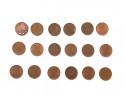 Lot 18 monede 1 leu 1992 1993 colectie bani vechi circulate