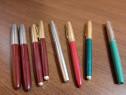 Set 8 stilouri chinezesti Youth si Rainbow - vechi de colecț