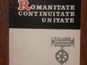 Romanitate, continuitate, unitate - Antonie Plamadeala