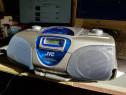 Radiocasetofon CD Boombox JVC model RC BX 30