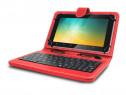 """Husa tableta model X cu tastatura, MicroUSB, Rosu 10"""" C405"""