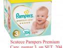 Scutece Pampers Premium Care, nr: 2, 3, 4, 5