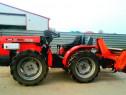 Tractoras 4x4 Antonio Carraro cu freza