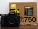 Nikon D750 body pachet complet