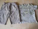 Lot hainute de vara pentru baietel de 9 - 12 luni
