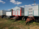 Remorci cereale 22 tone pt. camion sau tractor 2 axe