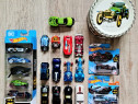 Machete Hot Wheels 20 bucăți plus cutie metalică