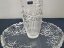Vaza și fructiera cristal (Crystalite Bohemia)
